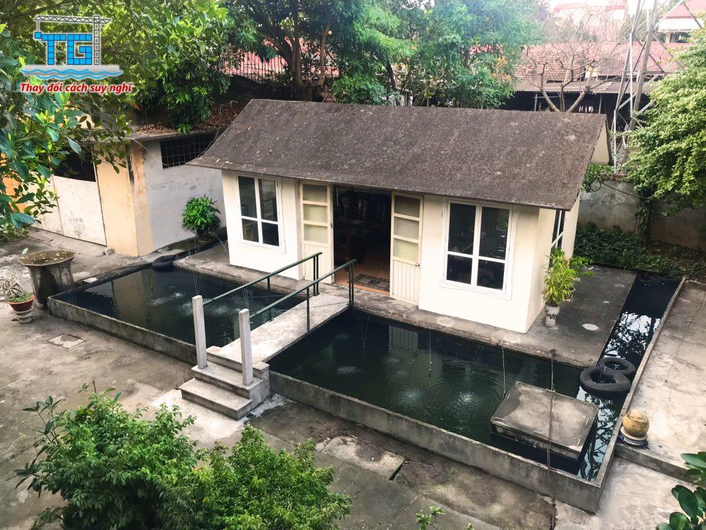 Nhà nổi bê tông nhẹ Thiên Giang