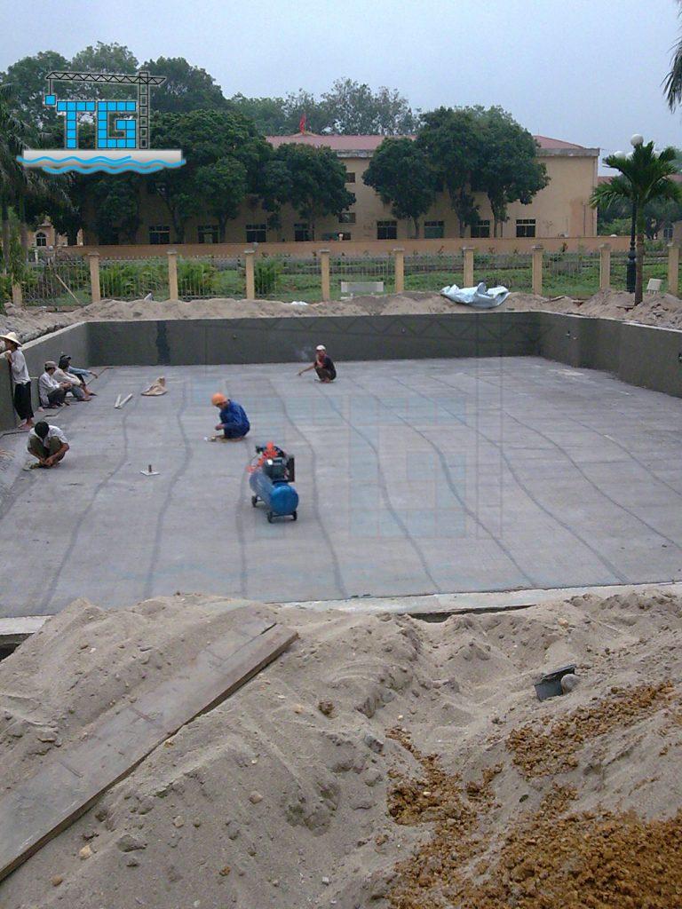 Công trình Bể bơi Tuyên Quang (2010)