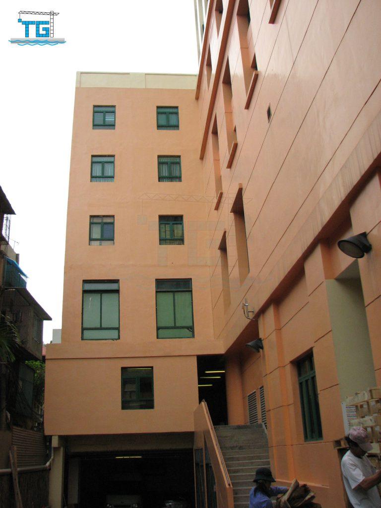 Công trình chồng thêm tầng tại Khách sạn Fortuna Hà Nội (2007)