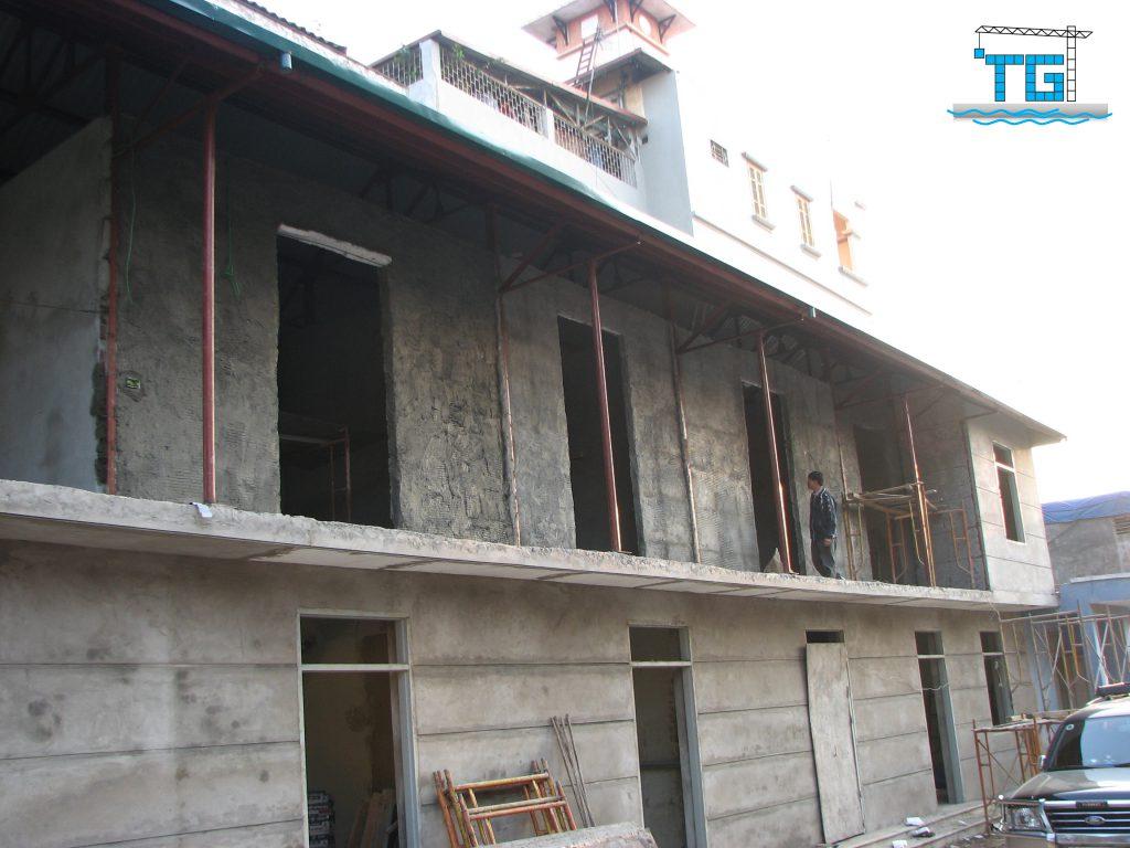 Công trình Vách 3D tại Trung Tâm Thể Thao Long Biên (2008)