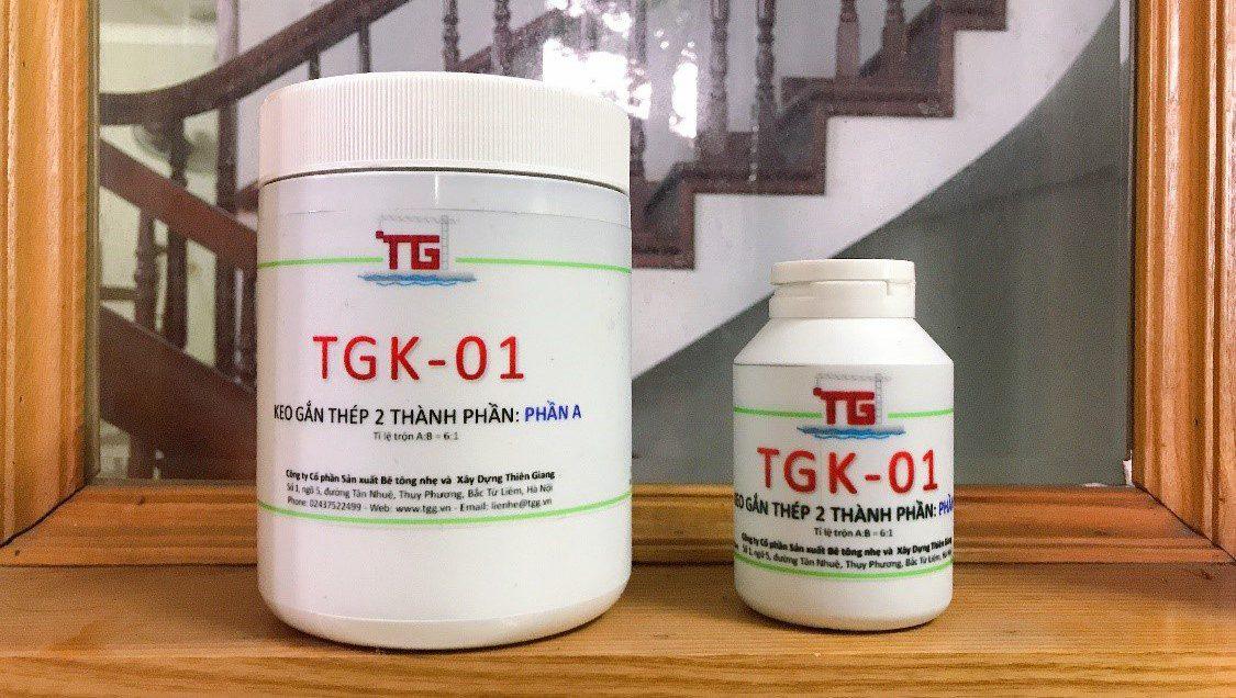 Keo gắn thép và nối thép 2 thành phần TGK-01